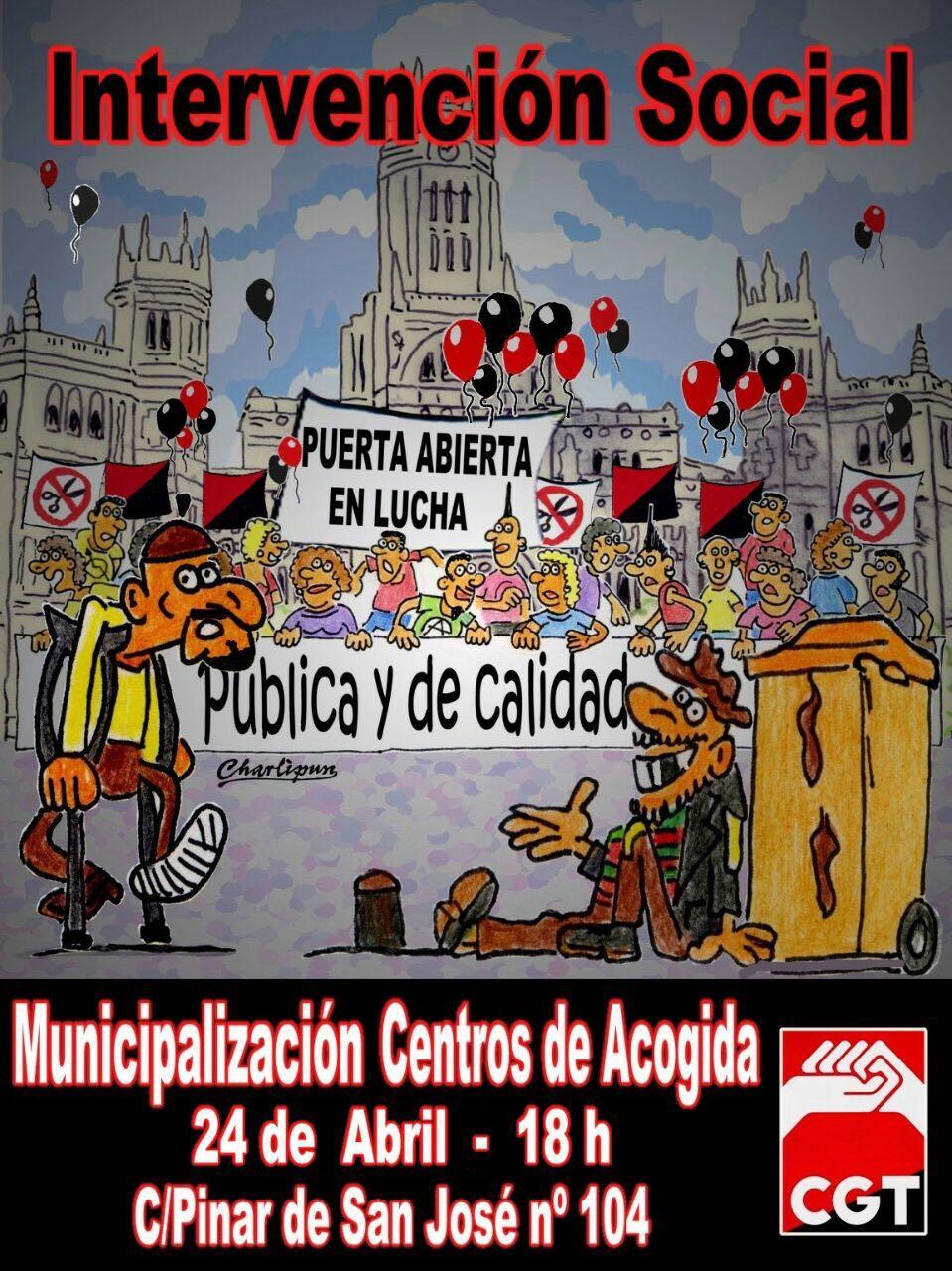 Concentración en Puerta Abierta