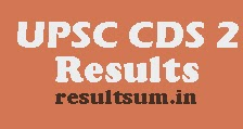 CDS 2 Result 2015 upsc.gov.in UPSC CDS II Exam Result 2014