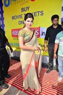 Actress Samantha Latest Pictures in Saree at Asian GPR Multiplex Opening  0064.jpg