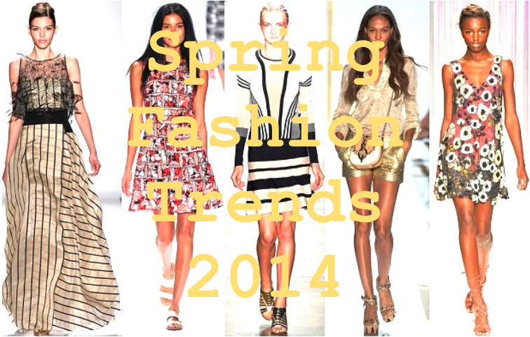 Spring Fashion Trends 2014 - Part One | Caught Red Bottomed