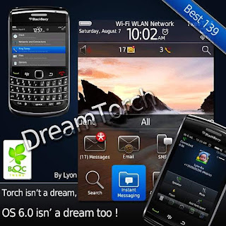 dreamtorch4 Free Download Tema Blackberry Gemini 8520