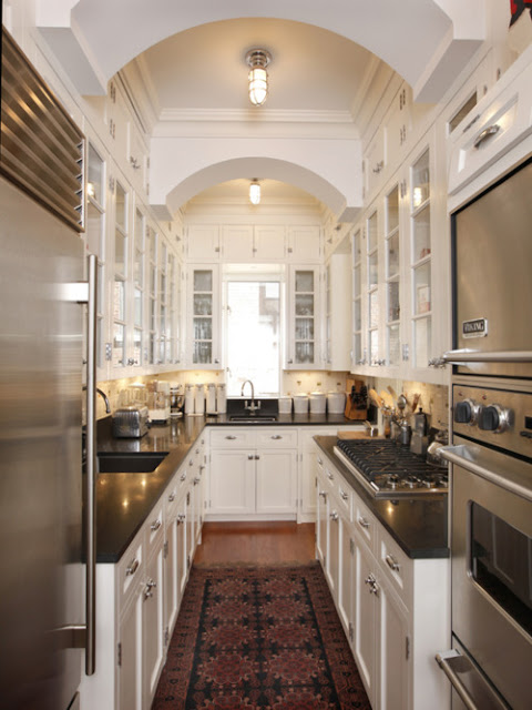 Beatrice Banks: Galley Kitchens Looking Grand