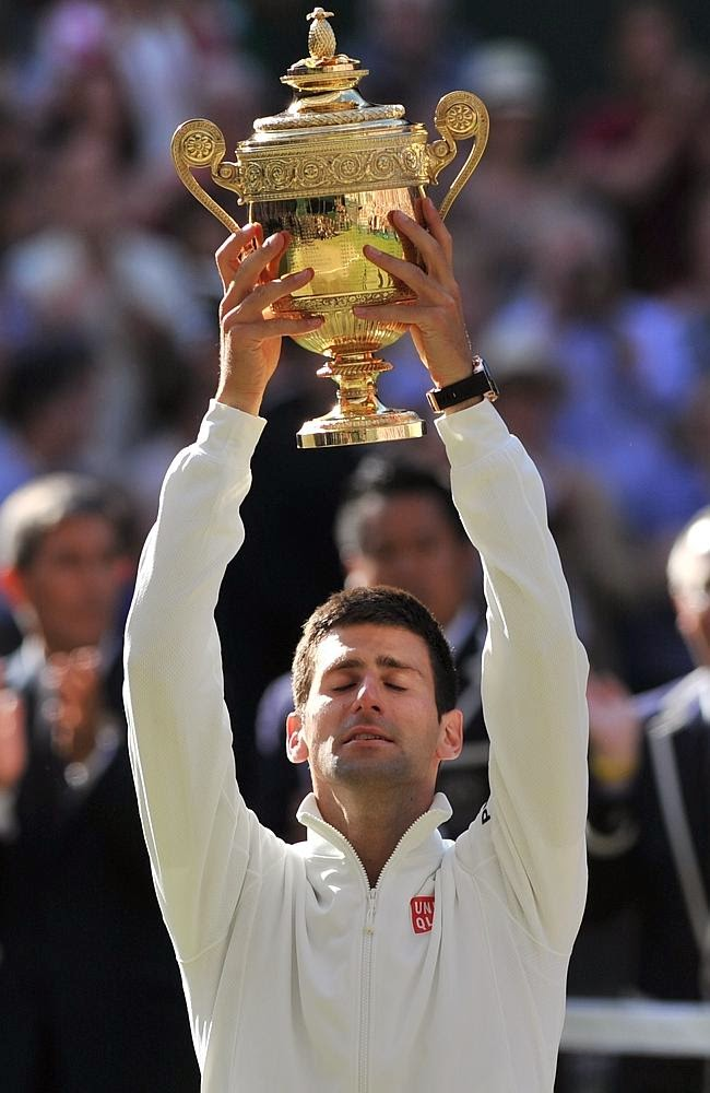 Chatter Busy: Novak Djokovic Dedicates Wimbledon Win to Fiancee Jelena Ristic And Future Baby ...