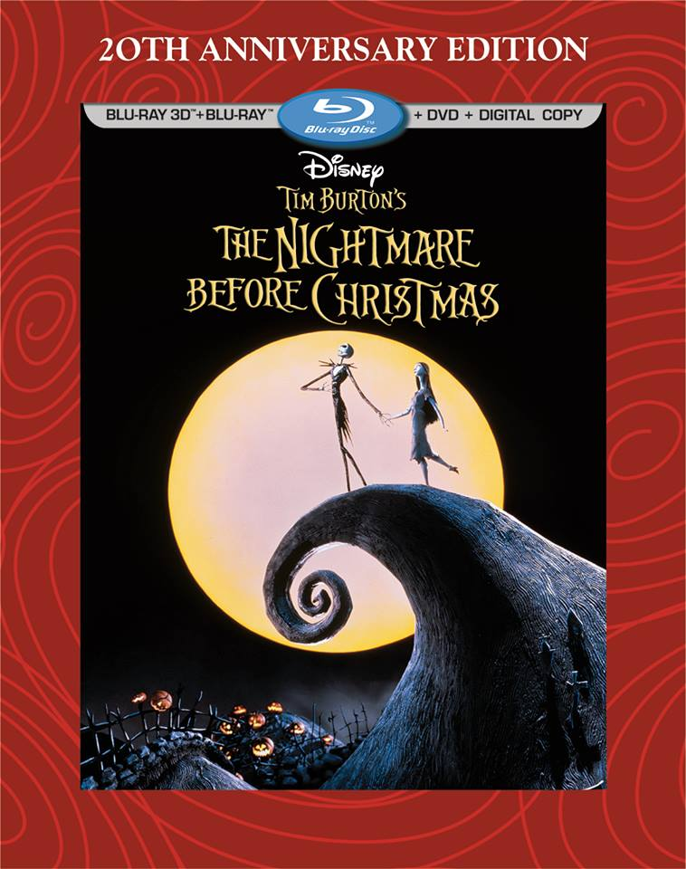 The Nightmare Before Christmas\' 3D Blu-ray Arrives | Halloween Daily ...
