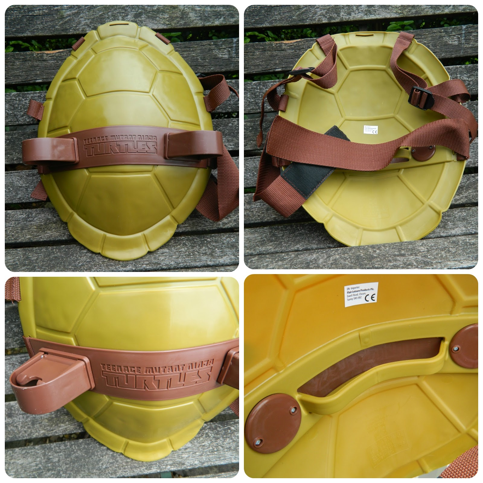 Teenage Mutant Ninja Turtles Combat Shell Dress Up