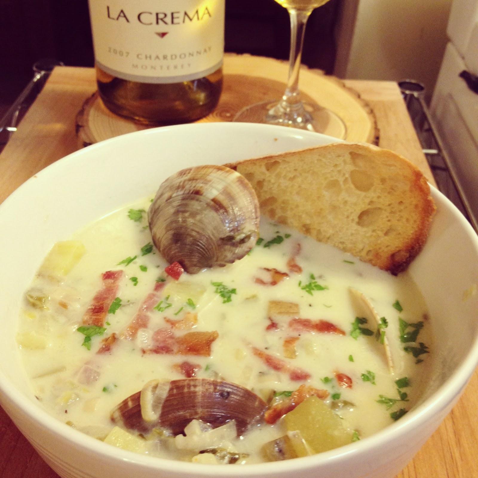 The Lush Chef: New England Clam Chowder