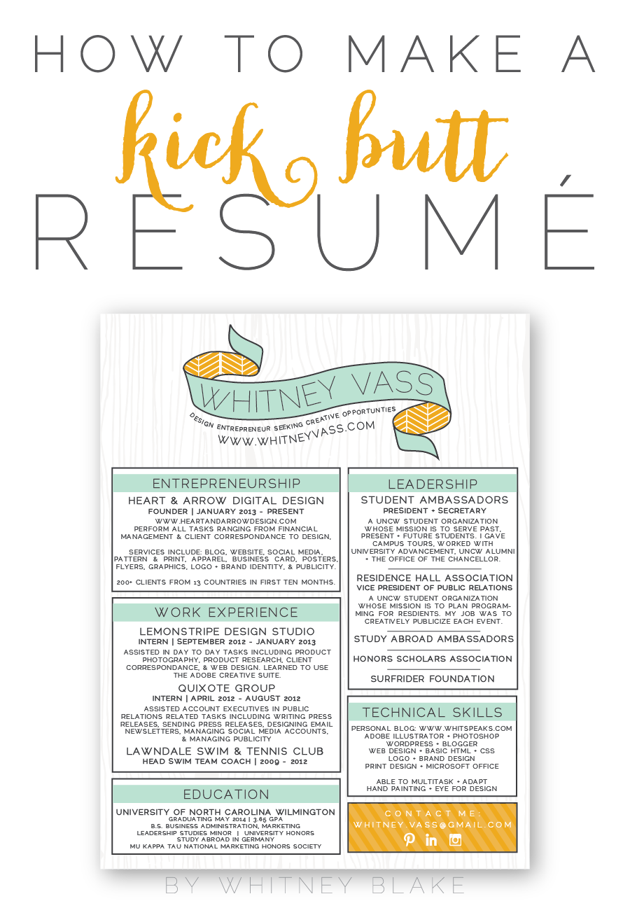 College Fashionista Resume Renascential Fashionista How
