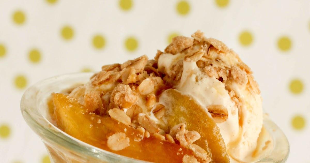 Cupcakes with Sprinkles: Caramel Apple Sundae