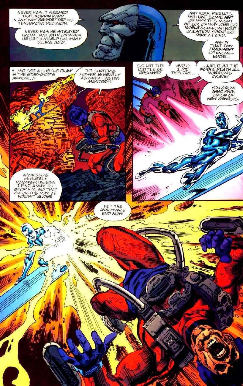una oscura fuerza alerta a la fuente de los nuevos dioses de nueva    Hulk Vs Darkseid