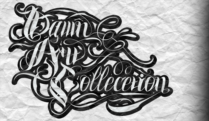 Dawn Art Collection Dac Gangsta Font