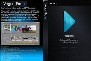 Sony Vegas Pro 12 Build 770 (64 bit)with keygen