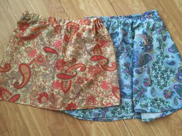 Paisley skirts