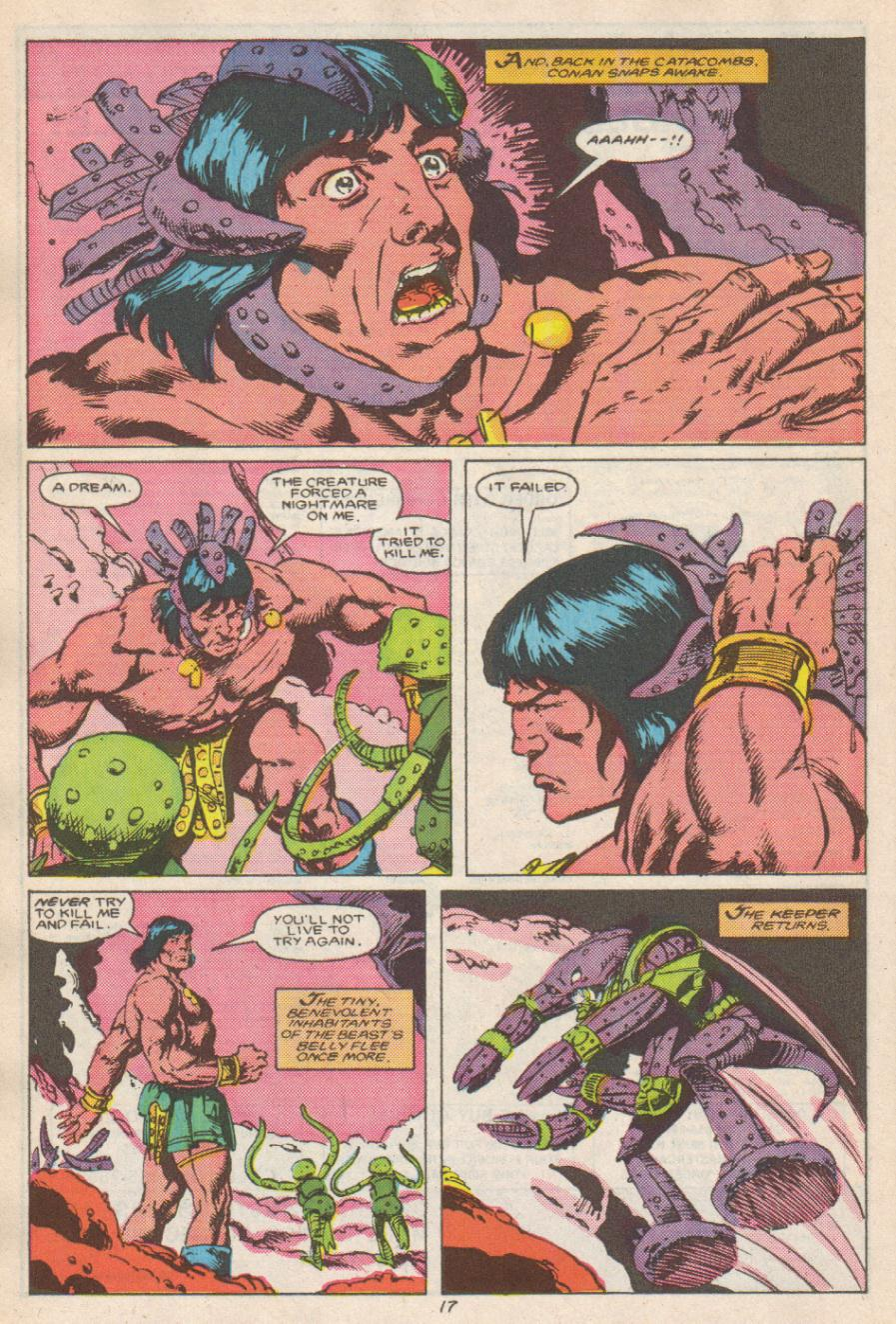 Conan the Barbarian (1970) Issue #192 #204 - English 18