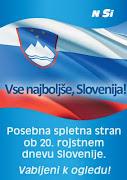 Feliz cumpleaños Eslovenia!
