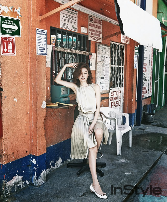 Han Hyo Joo - InStyle Magazine May Issue 2014
