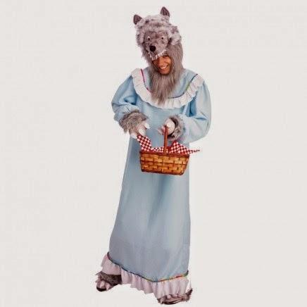 Disfraz de Lobo disfrazado de Abuelita