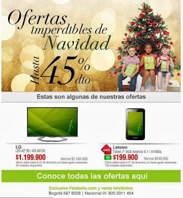 ofertas de navidad falabella 2013