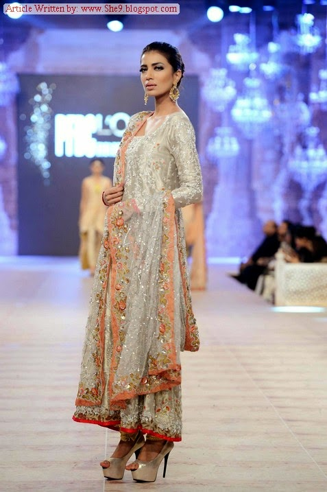 Sania Maskatiya Fancy Dresses at PFDC LOREAL Paris Bridal Week 2014