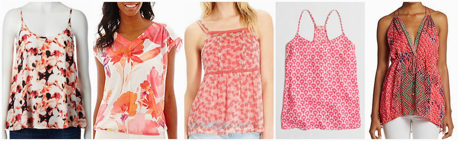 Wear It For Less: ZOE ALALOUCH: FLORAL TANK