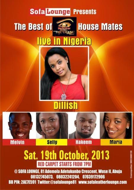 Best Of Bba Housemates At Sofa Lounge Abuja Sofalounge81 Oct19