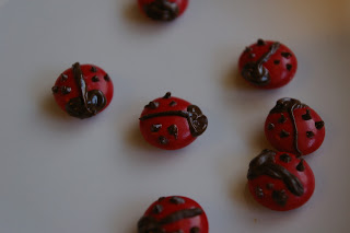 lady bug M&Ms