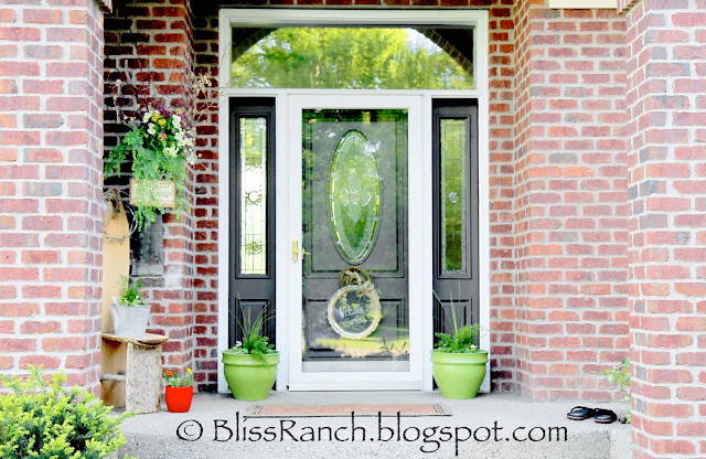 Front Porch Gone Green Bliss-Ranch.com