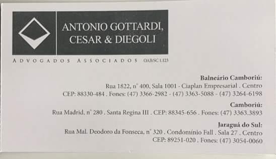 ANTONIO GOTTARDI, CESAR & DIEGOLI ADVOGADOS ASSOCIADOS