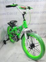 1 Sepeda Anak United Motocross Rangka Aloi 18 Inci