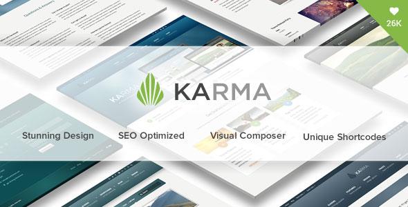 Free Download Karma V4.4 Responsive WordPress Theme