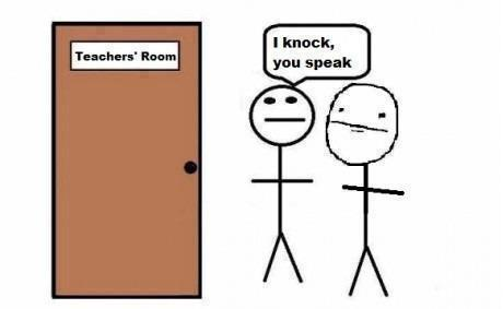 I Knock, You Speak