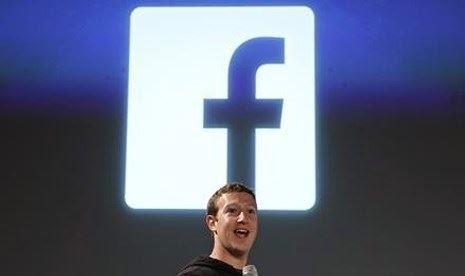 Akhir 2014, 1,3 Miliar Orang Gunakan Facebook