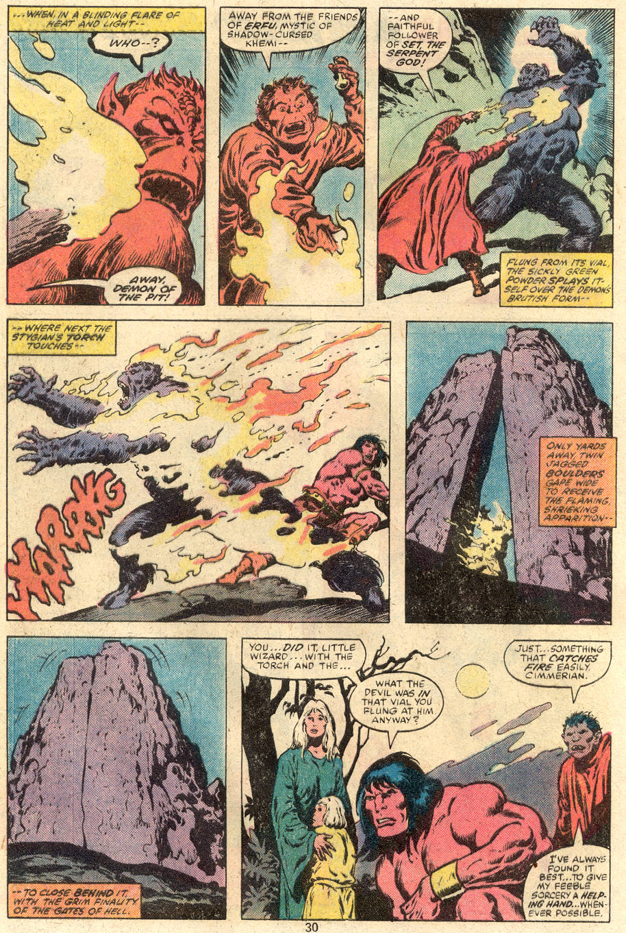 Conan the Barbarian (1970) Issue #113 #125 - English 17