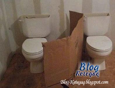 Peliknya rekaan tandas di China