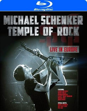 "MICHEAL SCHENKER - ""Temple of Rock - Live in Europe"" Blu-Ray"