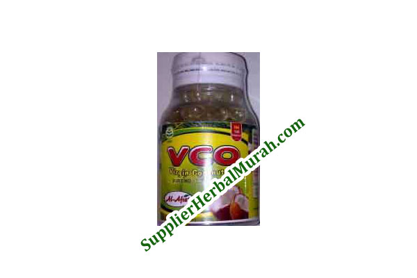 Kapsul Virgin Coconut Oil (VCO) isi 100 Al-Afiat