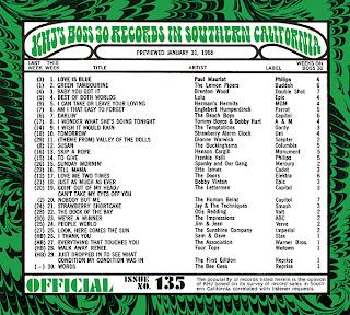 KHJ Boss 30 No. 135 - January 31, 1968