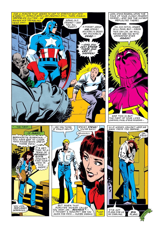 Captain America (1968) Issue #277 #193 - English 17