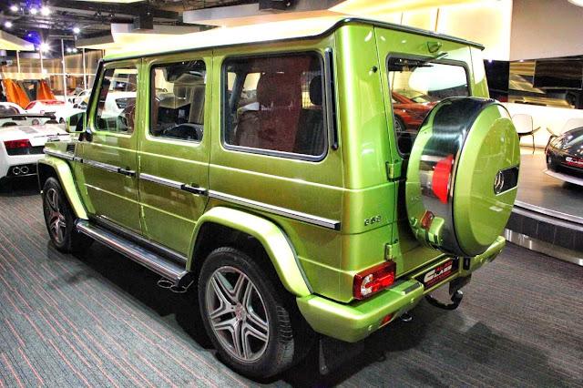 gelandewagen green