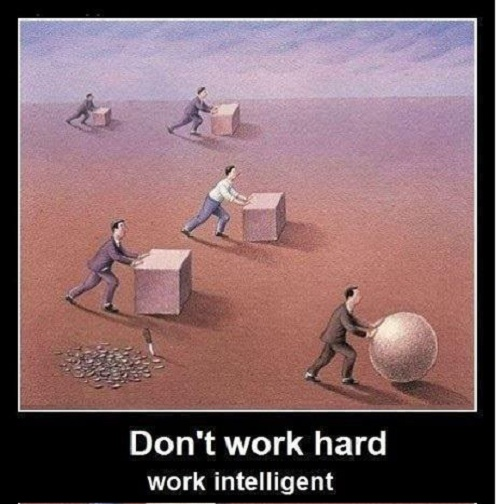 essay on hard work vs smart work