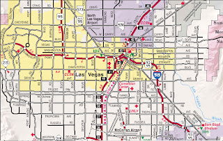 Metro Map of Las Vegas 3