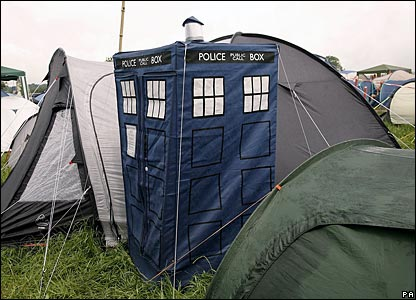Tardis Tent & Hello Iu0027m the Doctor: Tardis Tent