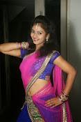 Young actress Jaya Harika in half saree-thumbnail-4