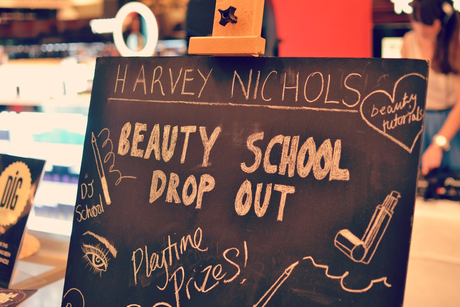 Harvey Nichols Beauty School Drop Out