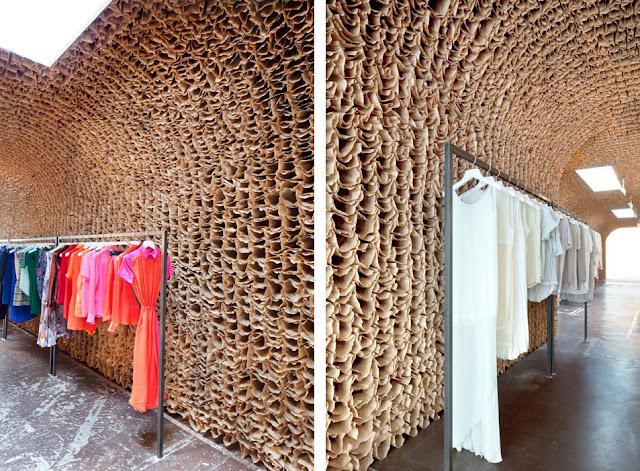 Revestimientos de pared de madera ii espacios en madera - Revestimientos de pared ...