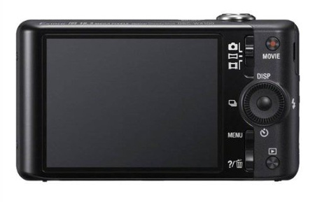 Sony Cyber-Shot DSC-WX100 LCD Display