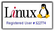 Nomor Registrasi Linux