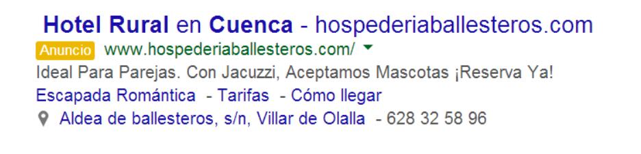 extensiones de anuncio google adwords