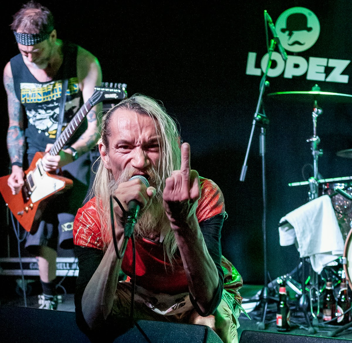 SNFU (Society's No Fucking Use) Zaragoza Sala Lopez