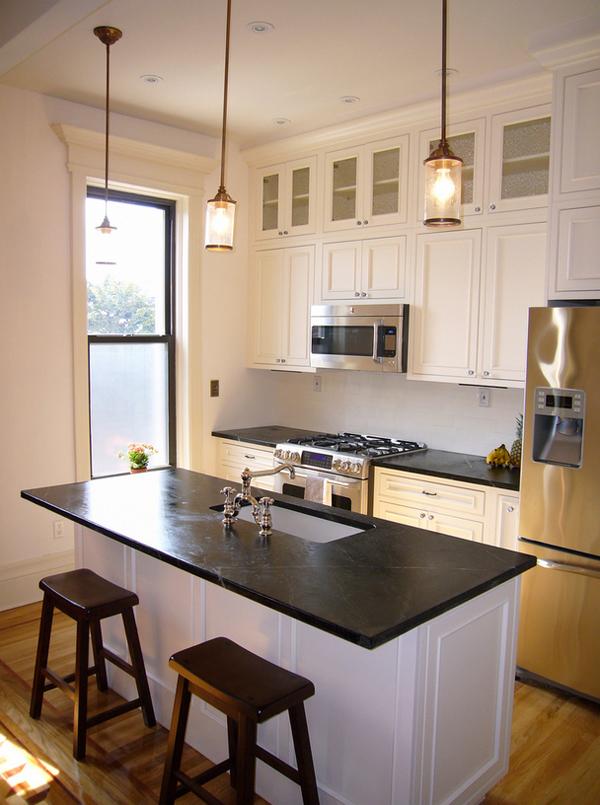 Rustik chateaux que encimera de piedra elegir en la cocina - Encimera marmol cocina ...