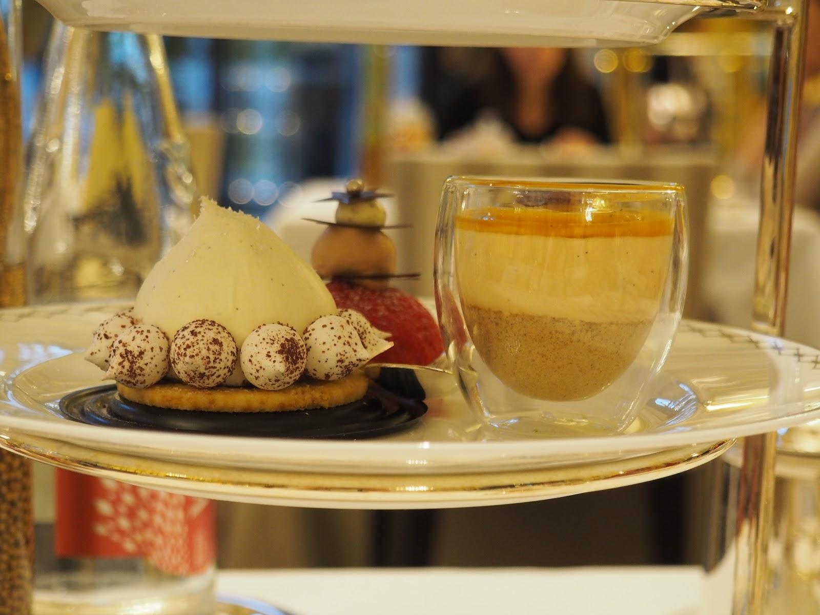 Peninsula Hotel, Paris, Afternoon Tea, cakes